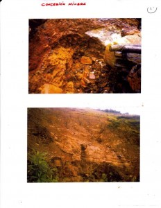 Bolivia - OPEN-GOLD-MINE-PIT