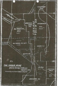 Taber Mine - 1931-survey-map