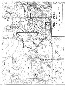 Taber Mine - channel-map