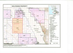 Wolfenden - Property Map