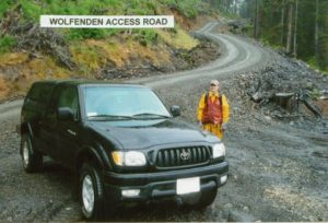 Wolfenden - Y400 ACCESS ROAD ON PROPERTY
