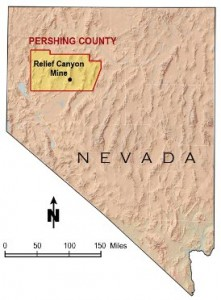 Relief Canyon Gold Project For Sale 1