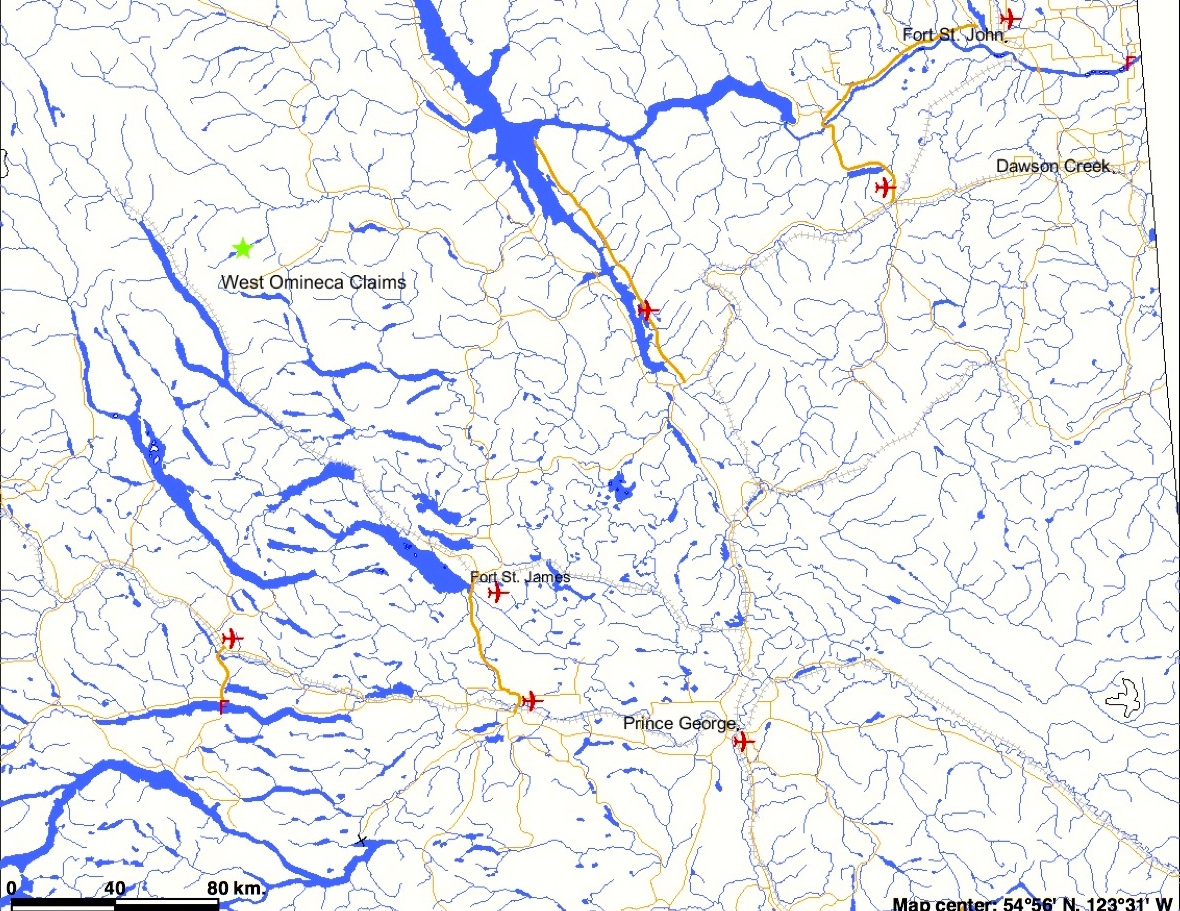 West Omineca Placer Gold Project For Sale