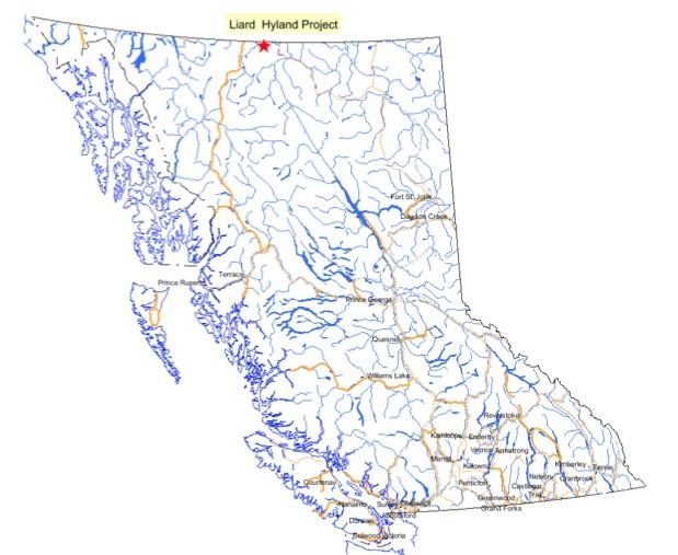 Liard-Map