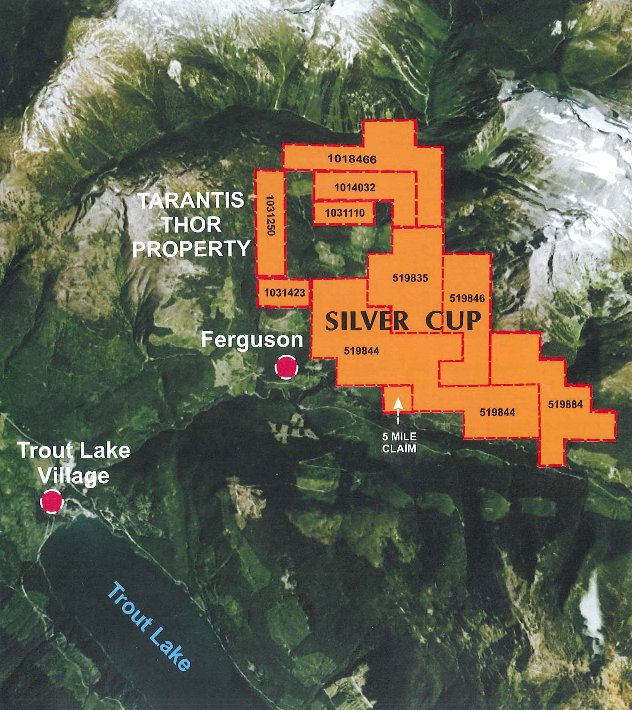 Silver Cup Mine For Sale