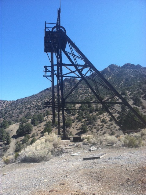 Historic Hales Headframe and Shaft For Sale 1
